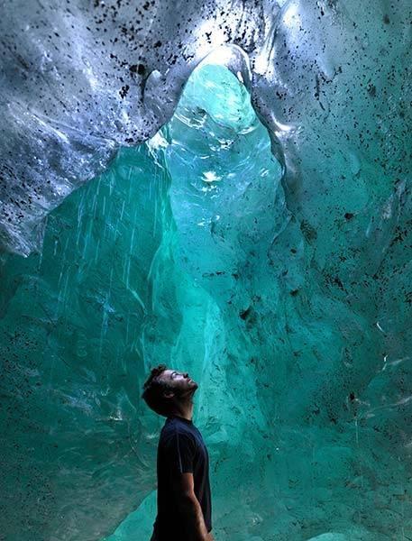 Inside Perito Moreno glacier @ Patagonia, Argentina
