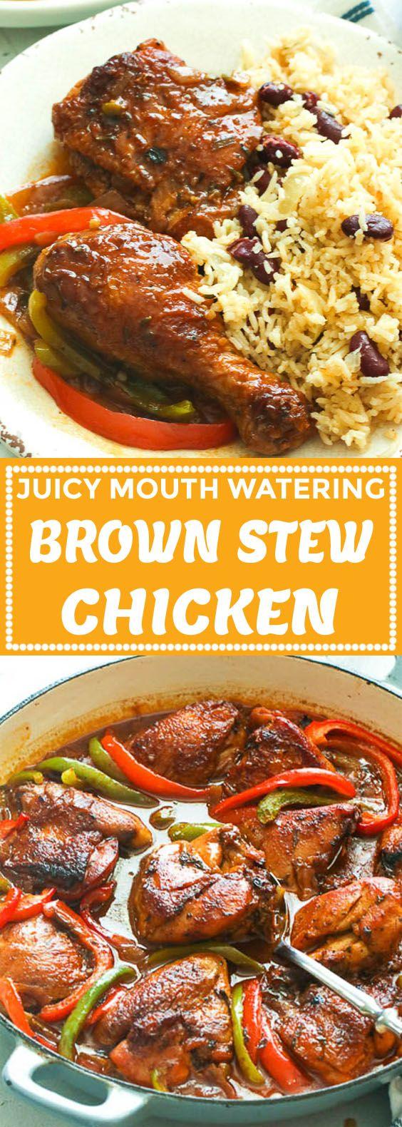 brown stew chicken  immaculate bites  stew chicken