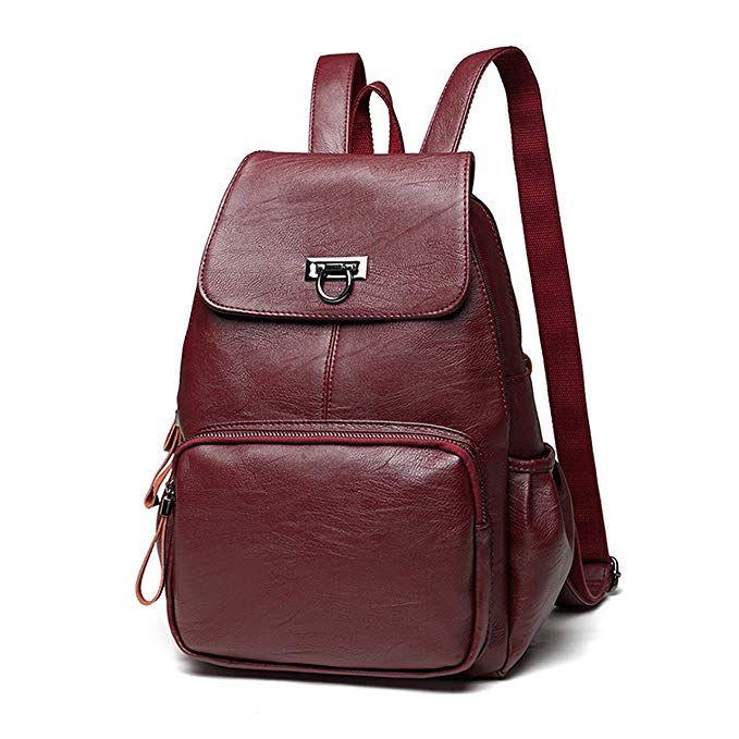 b7c63d86f7 FIGROL Women Backpack Purse Casual Shoulder Bag Ladies Satchel School Bag  Travel Daypacks for Girls(