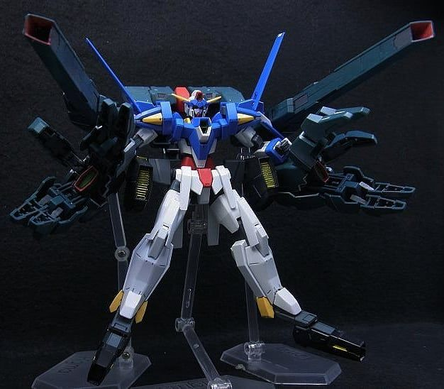 A @gundamerpat countdown of mobile suits from or inspired by the Mobile Suit Gundam Age series! 5 of 15. Viewer Notice: The featured model is NOT mine. Please post in your comment if you are the creator if you know the modeler or have factual information about the featured work. Trolls whiners and the disrespectful will simply be blocked. This IG is meant to inspire modelers and celebrate the hobby so enjoy and keep Gundaming!  #buildfighters #bandai #gunpla #mobilesuit #mecha #anime #toys…