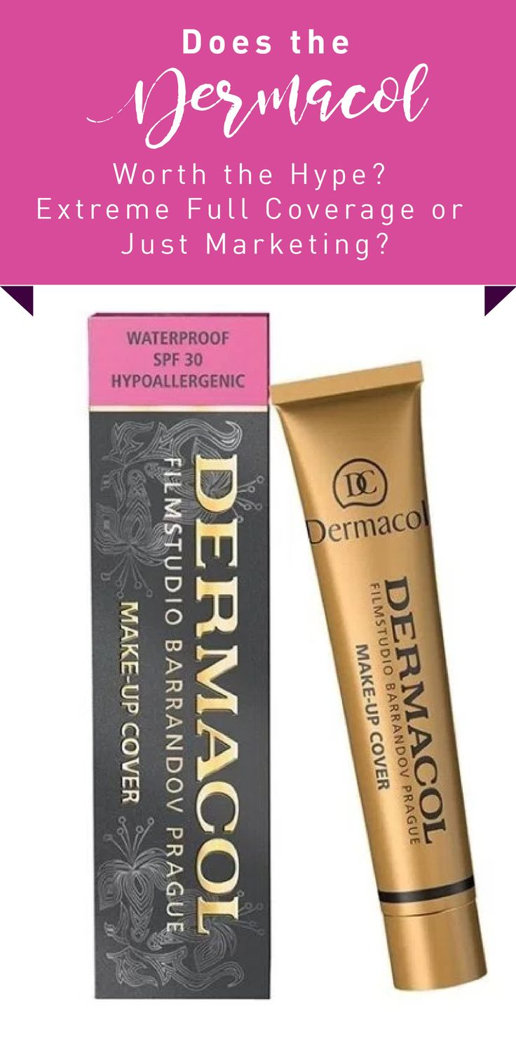 Does the Dermacol Worth the Hype? Extreme Full Coverage or JustMarketing? #beauty #foundation #review