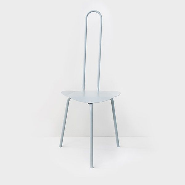 Paperclip Chair in Grey