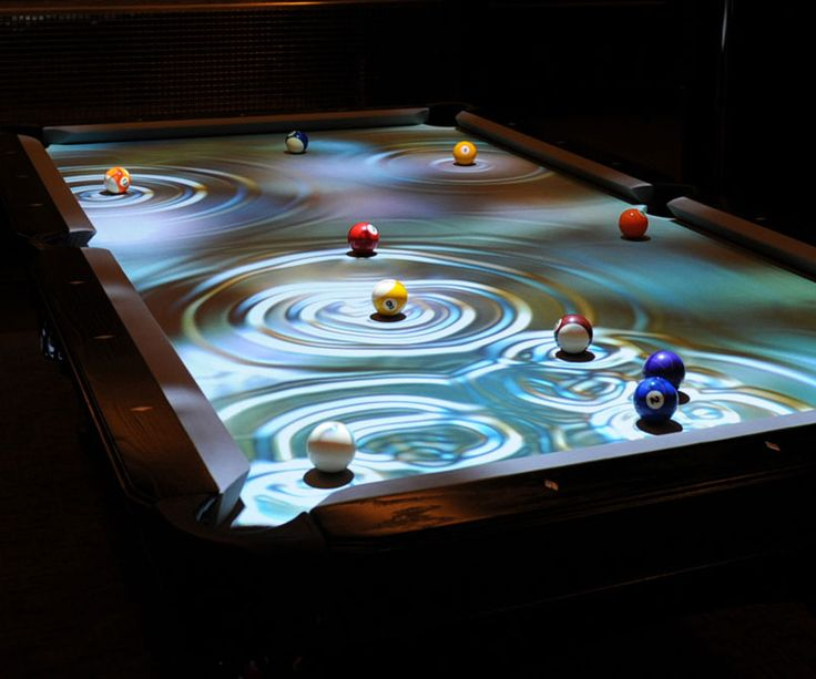 Interactive Pool Table   We Donu0027t Even Have A Boring Pool Table