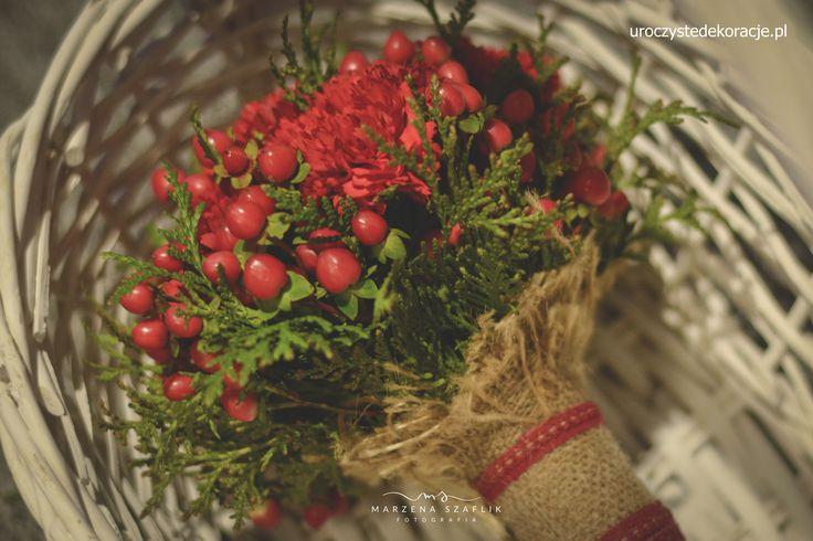 Winter bouquet Zimowy bukiet. Bukiet leśny Uroczyste Dekoracje