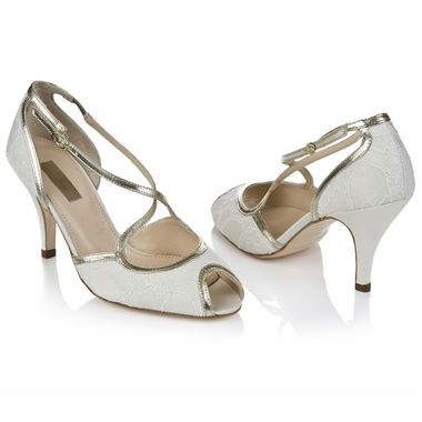 Bridal Shoes  Rachel Simpson New Collection - Imogen