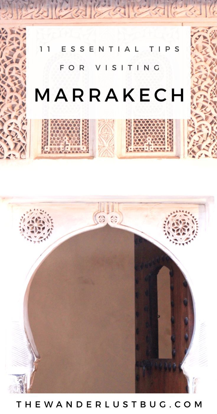 Essential tips for your trip to Marrakech, helping you understand the city, & helping you with culture, customs, getting around, where to stay, what to wear, what scams NOT to fall for, and what apps to download...