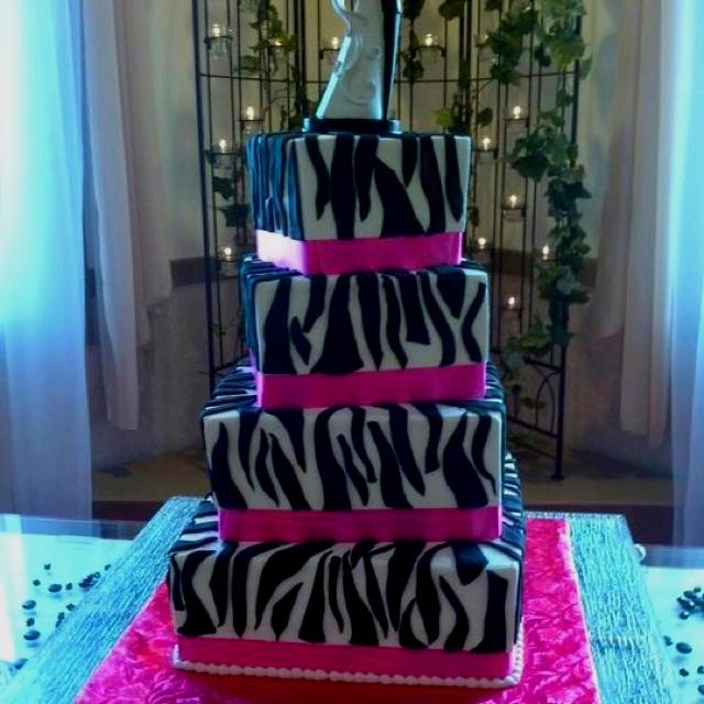 8 best zebra wedding ideas images on pinterest zebra wedding zebra wedding cake junglespirit Images