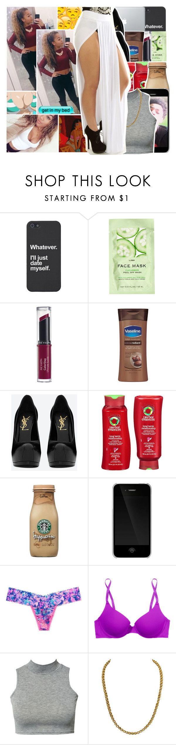 """Whatcha gonna do when i put that pretty thing on you ? ❤️"" by s-urfboard ❤ liked on Polyvore featuring H&M, Revlon, Yves Saint Laurent, Herbal Essences, Incase, Victoria's Secret PINK, Club L, princesscinderella, BabyGirlKai and LittleMissPrincess"
