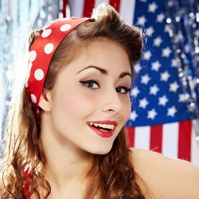 1000 Images About Bandana Hairstyles On Pinterest