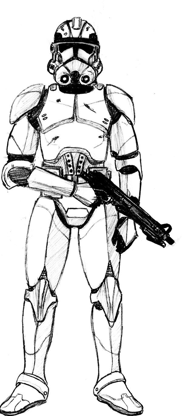 Clone Trooper Phase 2 Armor By Crashybandicoot Star Wars Clone Wars Star Wars Characters Poster Star Wars Drawings