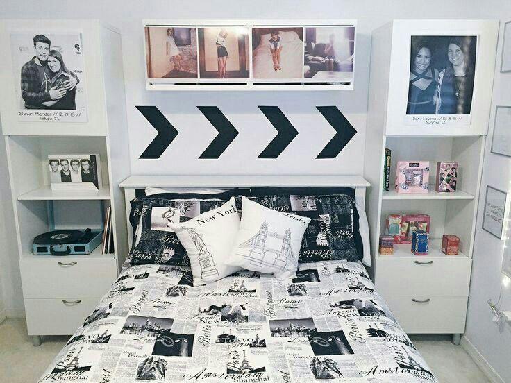 Ideias Estao Surgindo One Direction Bedroom One Direction Room Room Decor