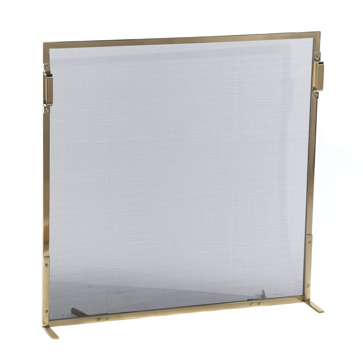 Buy 6311 Fireplace Screen by Wm. H. Jackson Co. - Made-to-Order designer Accessories from Dering Hall's collection of Contemporary Transitional Fireplace Mantels & Accessories.