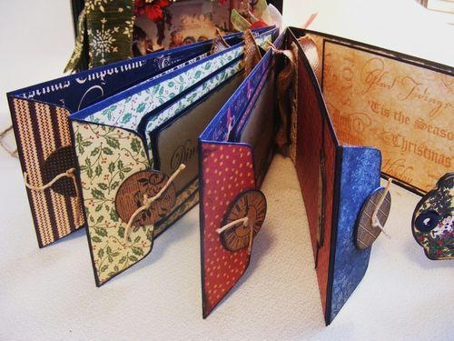 Holiday Planner - made from policy envelope album