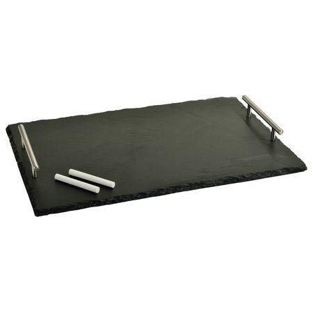 Sardo Slate Cheese Board with Soapstone Chalk