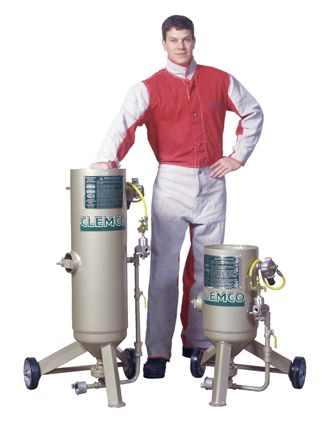 Clemco0.5 and 1 Cuft Classic Blast Machines- Clemco Abrasive Blasting equipment