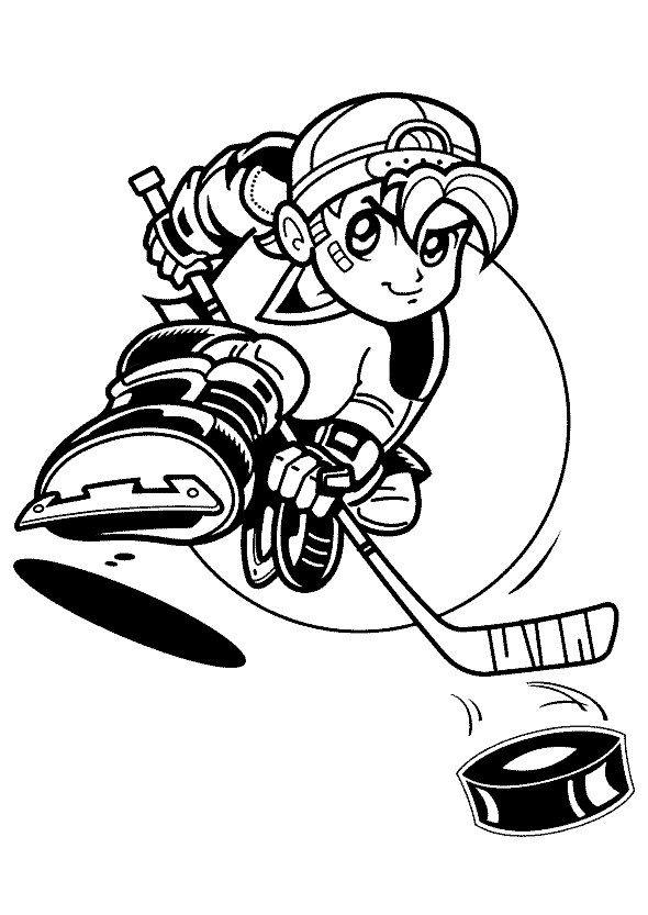 Dibujos para Colorear Deportes 18