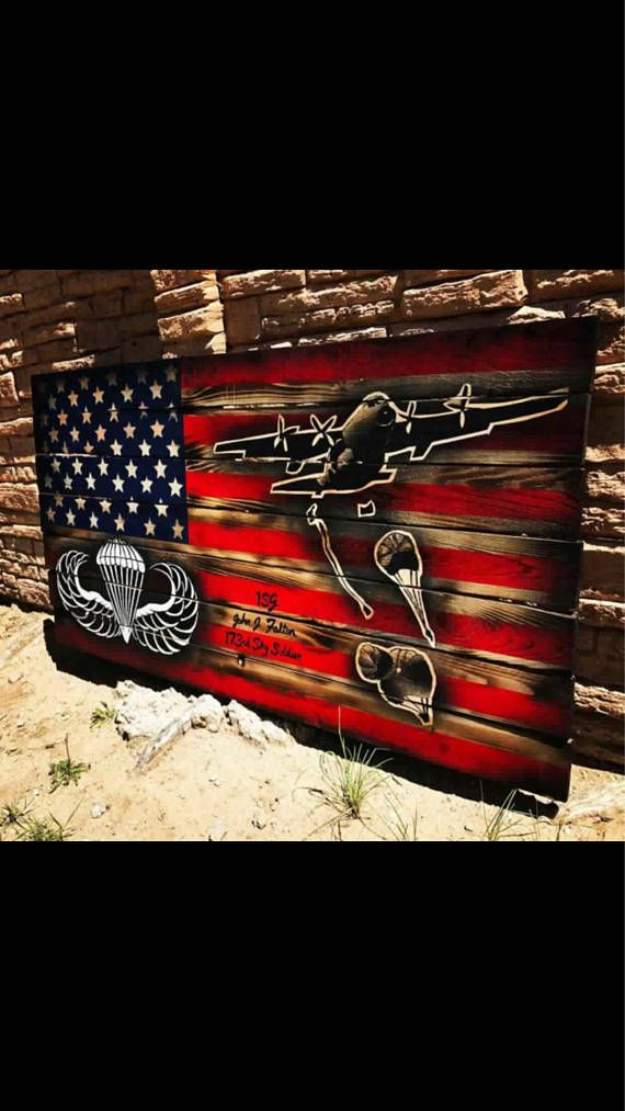 Army Infantry Wall Tribute U.S Army Infantry Hand Made Gift U.S