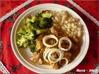 Kuřecí pupíčky (žaludky)s brokolicí