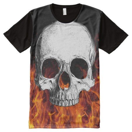 Skull T-Shirt - click/tap to personalize and buy