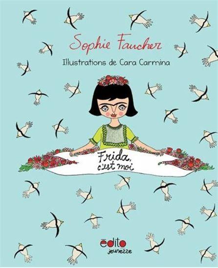 Si les oeuvres de Frida Kahlo sont bien connues du grand public, dont ses magnifiques autoportraits révélant sa beauté sombre et sa chevelure fleurie, sa vie l'est peut-être moins. Pourtant, son destin hors-du-commun fut marqué par d'intenses souffrances physiques qu'elle a transcendées par l'amour de son art. Dans ce livre destiné à un jeune public, Sophie Faucher prête sa voix à Frida l'enfant qui se raconte à travers les joies et les peines de son quotidien. Les textes profonds…