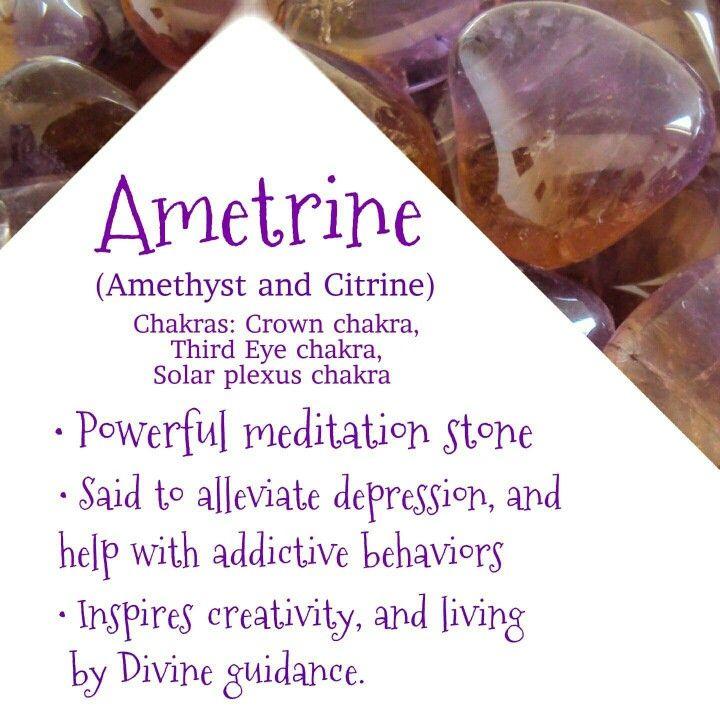 Ametrine crystal meaning