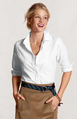 11 best Women's Oxford Dress Shirts and Work Shirts images on ...