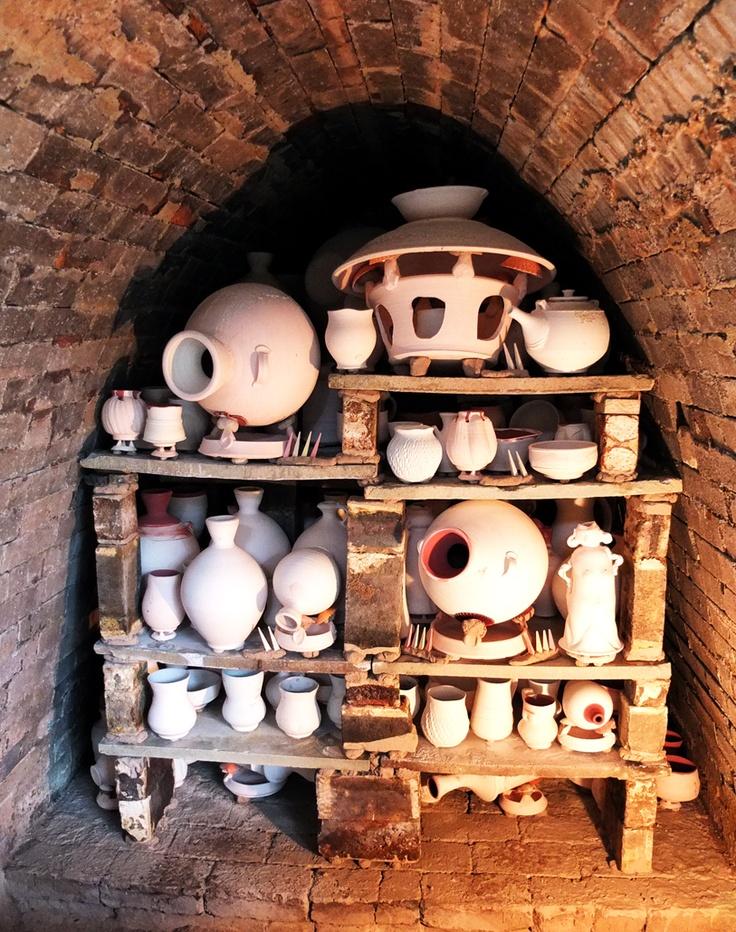 Dick Lehman's kiln