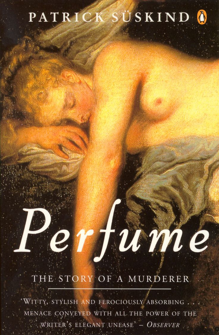 Perfume: The Story of a Murderer is a 1985 literary historical cross-genre novel (originally published in German as Das Parfum) by German writer Patrick Süskind. The novel explores the sense of smell and its relationship with the emotional meaning that scents may carry. Above all it is a story of identity, communication and the morality of the human spirit.