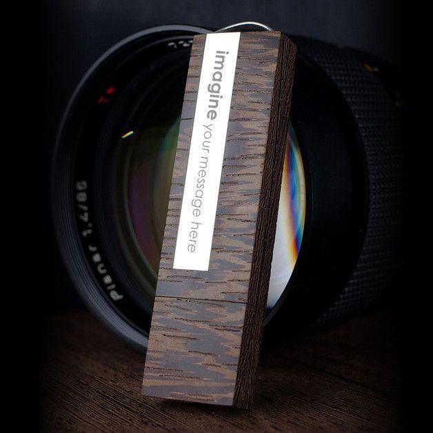Geburtstag - USB stick gravur | Silber | 128GB USB 3.0 - ein Designerstück von ZaNa-Design bei DaWanda