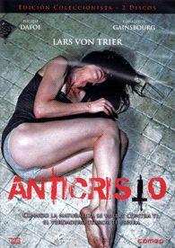 DVD CINE 1801 -- Anticristo (2009) Dinamarca. Dir.: Lars von Trier. Terror. Thriller. Drama. Temas de xénero. Relixión. Sinopse: para axudar á súa muller a superar a morte accidental do seu fillo, o seu marido, psicólogo, decide levala a unha cabana perdida no medio dun bosque, o lugar onde ela pasou o último verán co seu pequeno. Pero a terapia non parece funcionar, ela comeza a comportarse de modo estraño, e a natureza tamén.