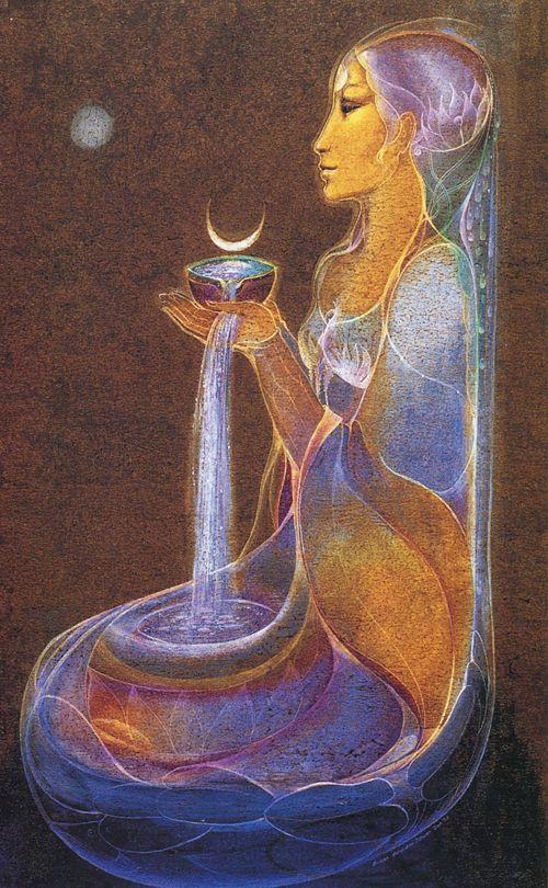 Susan Seddon Boulet ~ Moon Cup