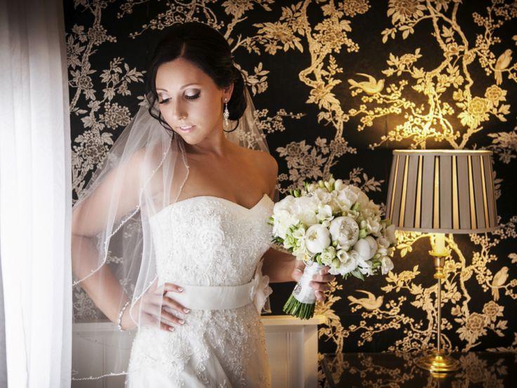 Real Weddings | Bridal Prep  http://divaonline.com.au/wedding-jarrod-katelyn/  Date: December 2013 Guests: 117 Theme: Soft, romantic and vintage Dress and Suits: Ravish, Menz Mode Flowers: Dina's Flower Passion Venue: Tatra Receptions Photographer: Studiomax Photography