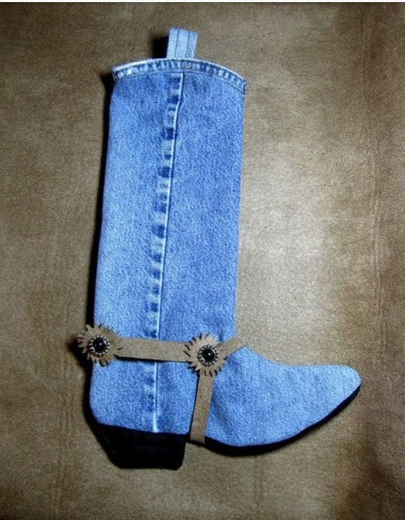 A Fun Country Christmas stocking