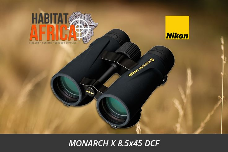 Thanks to it's superb multi-layer lens and prism coating system, the Nikon MONARCH X 8.5×45 DCF binoculars are perfect for bird watching, nature observation, hiking and hunting. The robust housing is filled with nitrogen to ensure a clear image, even at low temperatures and is water resistant up to 5m. [...]