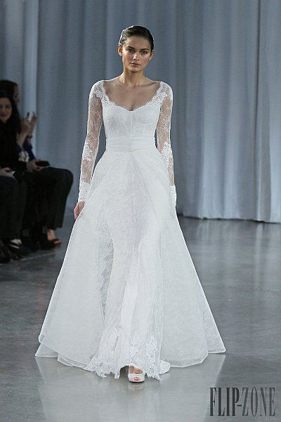 online jewelry appraisal free Monique Lhuillier Fall winter 2013 2014   Bridal
