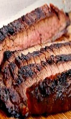 Steakhouse-Style Grilled Marinated Flank Steak Recipe