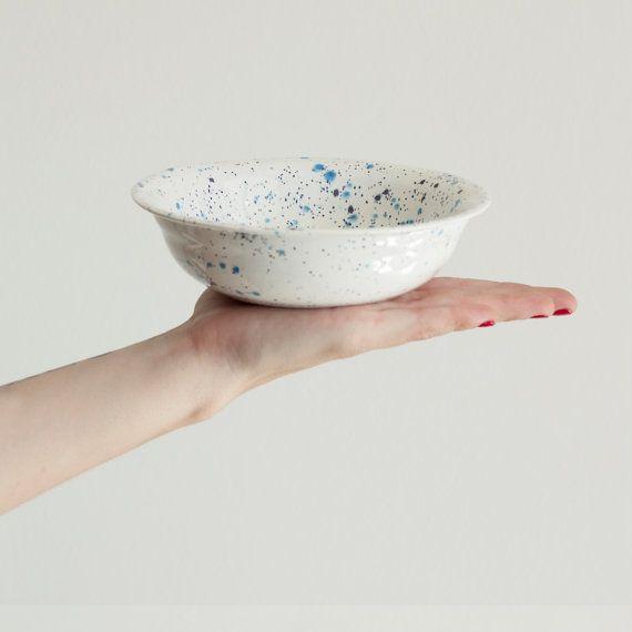 Handcrafted Ceramic Cereal Bowl, Ceramic Serving Bowl
