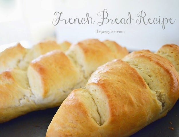 Easy French Bread Recipe Little Inspiration