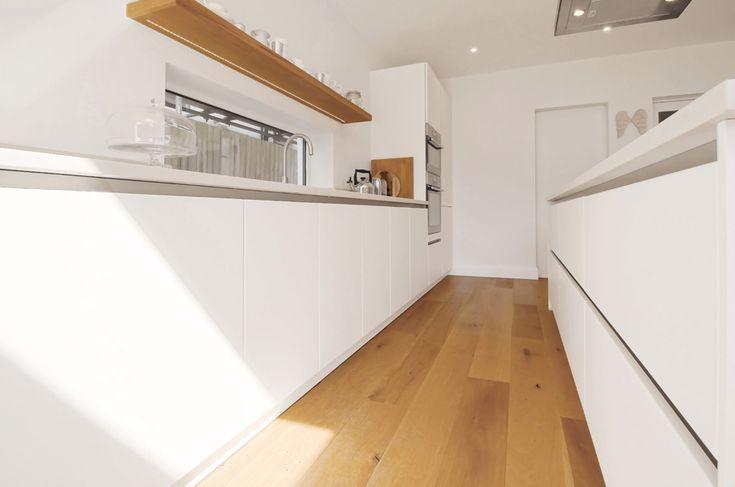 Schuller Mora L102 White matt lacquer kitchen Hove