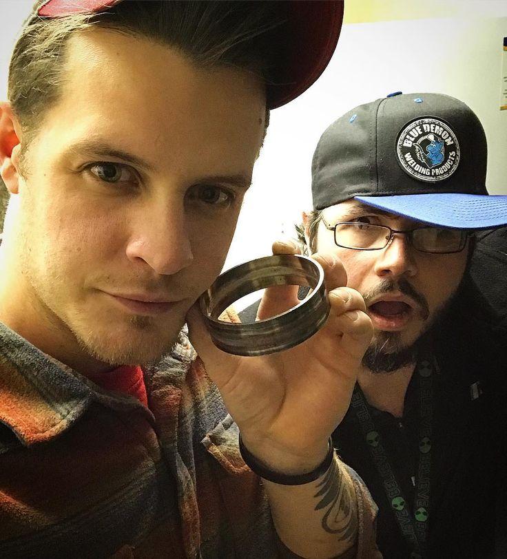 Passed my weld test AND Im chilling with my dude and @tig_unit brother @theonezim in Virginia. Cheers everybody! . . . #tigunit #tigunittakeover #welding #weldporn #weldlife #weldmoney #tigwelding #tigwelders #dailyslay