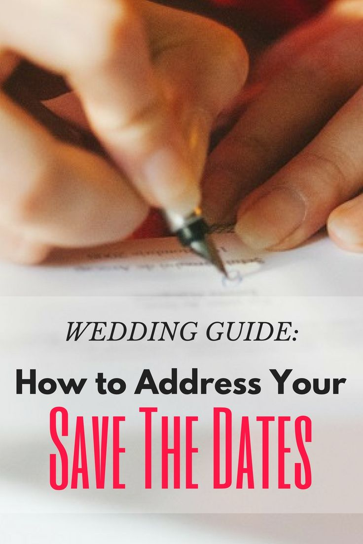 Addressing save the dates in Perth