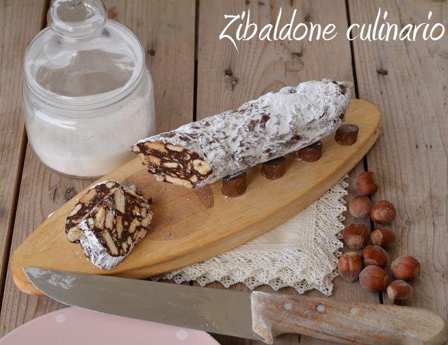 Zibaldone culinario: Salame di cioccolato