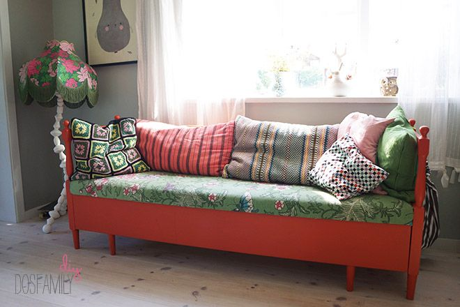 Couch makeover DIY