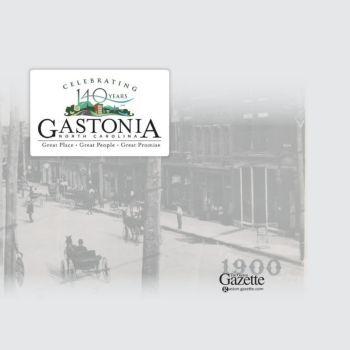 "Digital version of The Gaston Gazette's insert: ""Celebrating 140 Years Gastonia, North Carolina"""