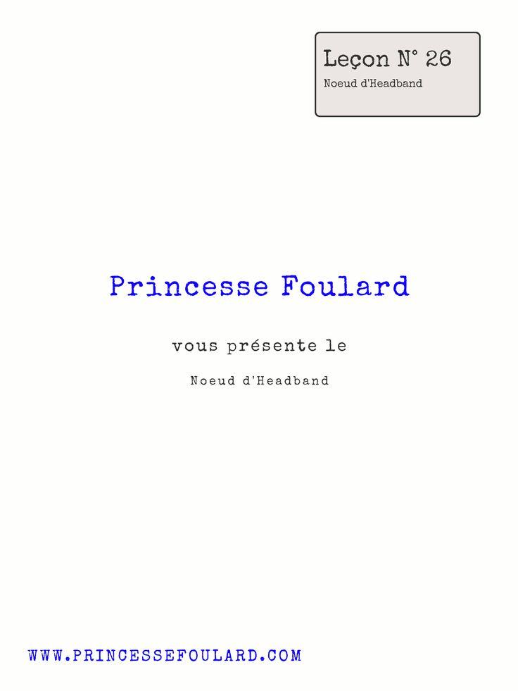 482 best nouer et porter un foulard images on pinterest head scarfs scarf knots and human height - Comment nouer un noeud papillon ...
