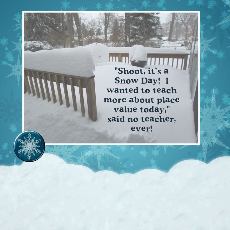 Owl Things First!: Snow Day Calculator! Snow Day Freebie!