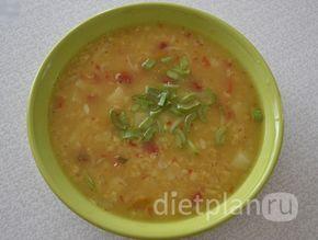 Постный турецкий суп с булгуром и чечевицей | Диетические низкокалорийные рецепты - блюда правильного питания на Dietplan.ru