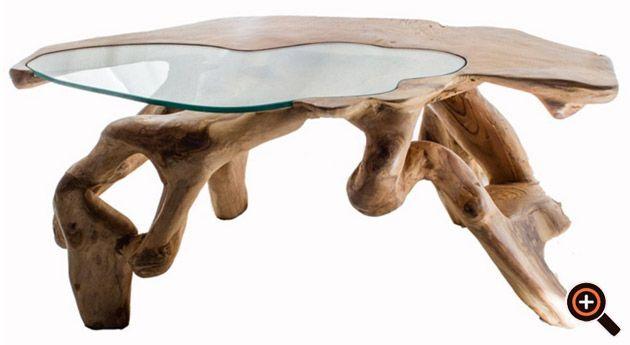 Designer Couchtisch Trend Mobel Wohnzimmertisch Aus Holz Glas Metall