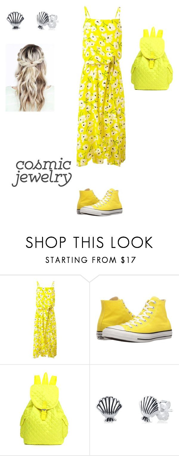 """""""Untitled #4"""" by bubbleh14 ❤ liked on Polyvore featuring Rochas, Converse and Disney"""