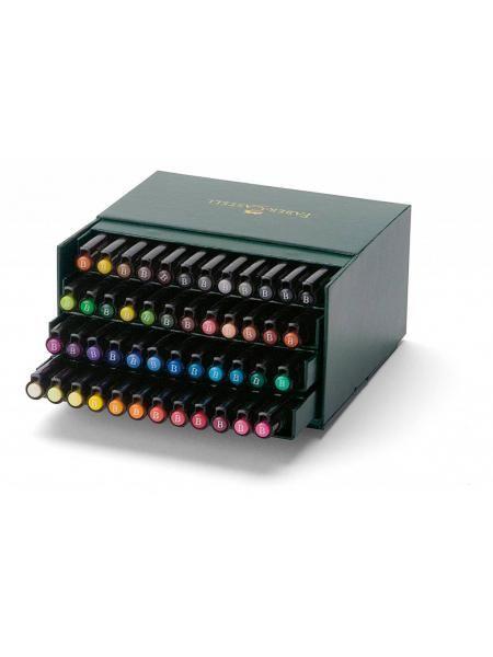 Faber Castell Pitt Artist Pen Brush 48 delig Studiobox